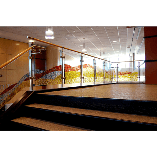 Hillsboro Civic Center Grand Staircase Installation