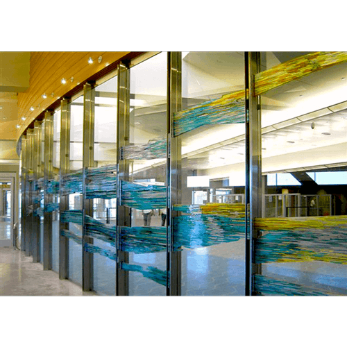 Boise Airport Glass Wall
