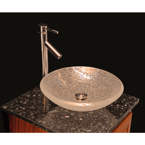 Custom Glass Vessel Sink